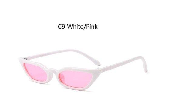 C9 белый розовый