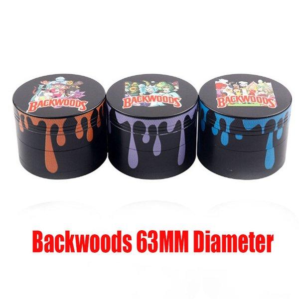 Backwoods Cartoon 63mm Mix Colors