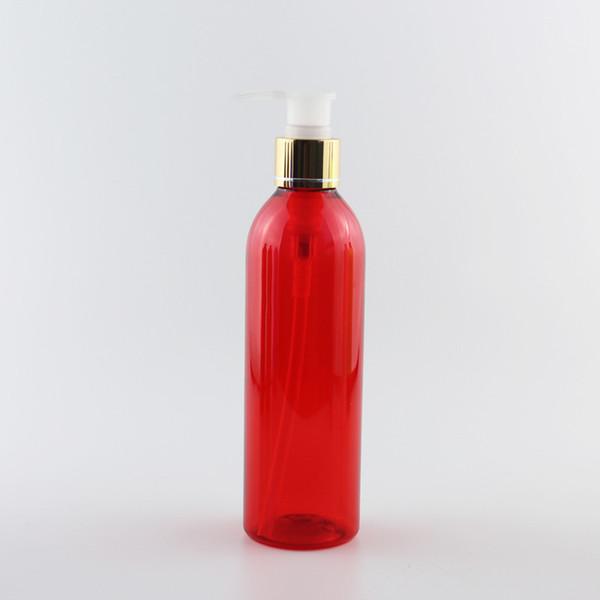 250мл Красную бутылку Очистить ПЭТ