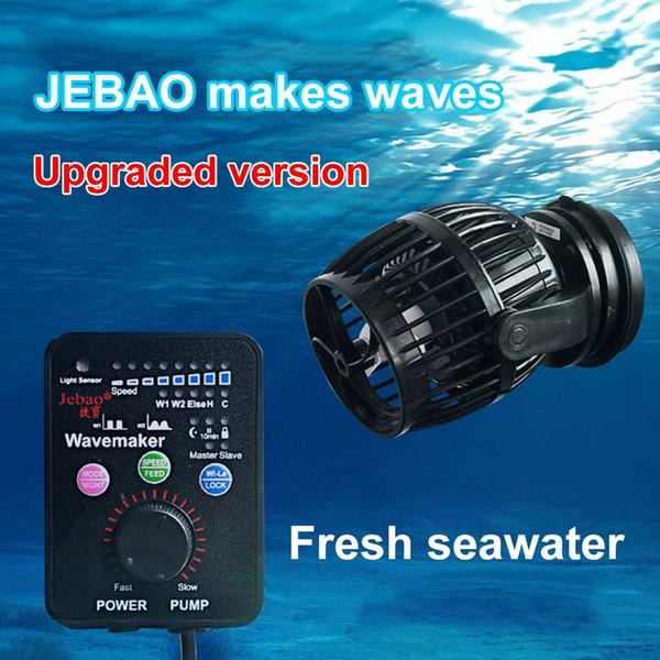 top popular Jebao Mini Wave Pump RW4 RW8 RW15 RW20 Coral Cylinder Pump Ocean Aquarium Wave Manufacturing Pump General 110~240V Y200922 2021