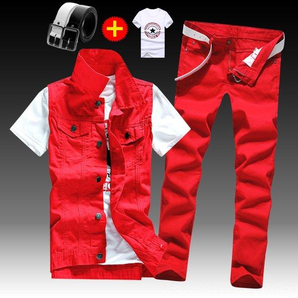 Pants Red Vestxred