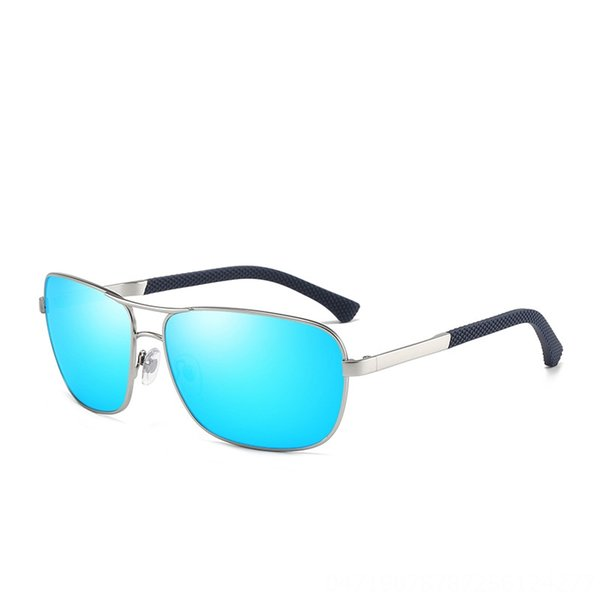 Silver Frame Ice Blue Chip C5