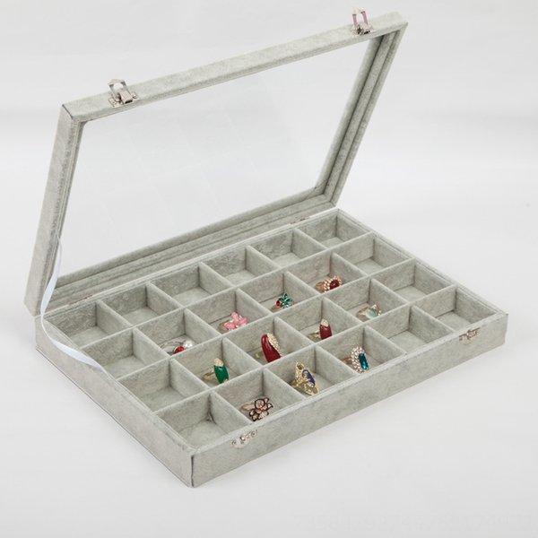 24-grille Boîte à bijoux-35x24cm