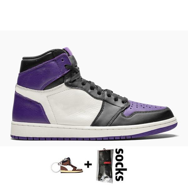 D27 36-46 Corte púrpura