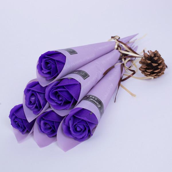 Фиолетовый роза