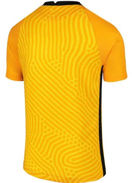 Gardien de but jaune