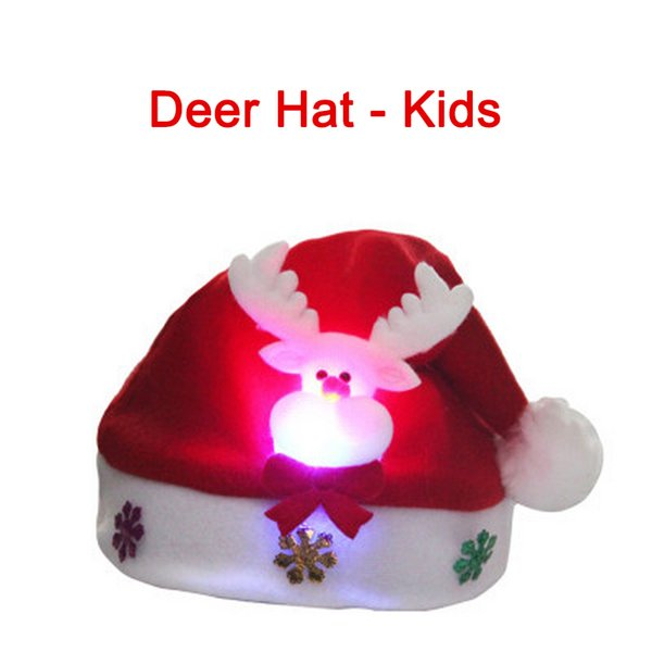 Deer Hat - Kids China 30x32cm