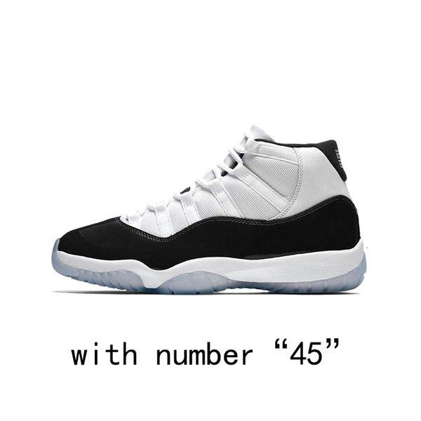Concord con il numero 45