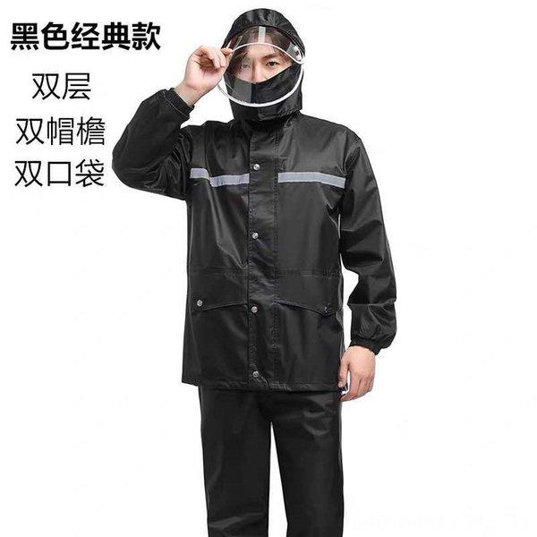Classic Black + Duplo Brim Suit