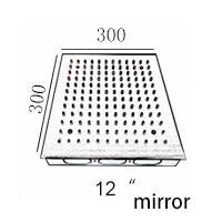 12quot; acabado de espejo 300 * 300