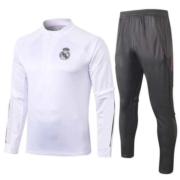 B401# 2021 White Half zipper
