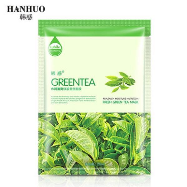 Green tea Silk Mask