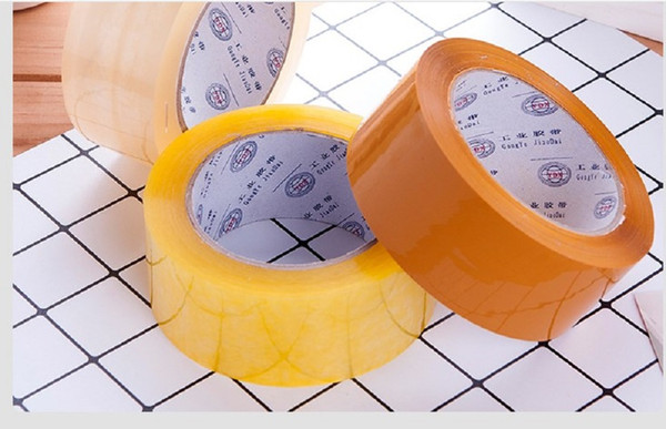 top popular 2020 hot sale Manufacturer wholesale transparent tape 4.5 5.5 6cm widened packaging sealing tape adhesive tape AT002 2021