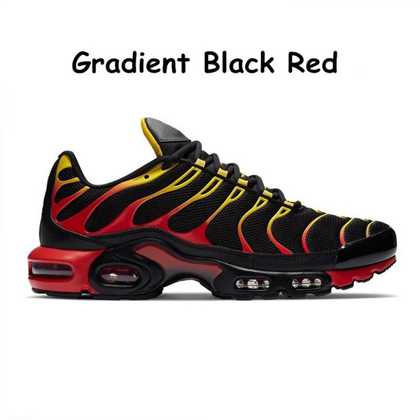 12 degradado negro rojo