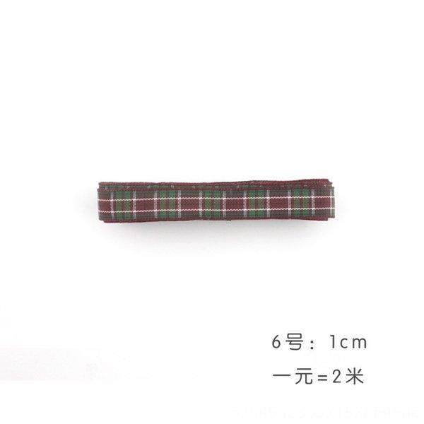 ⑥ tela escocesa de 1 m de ancho y 2 m de precios.