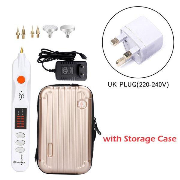 Uk Plug con il caso