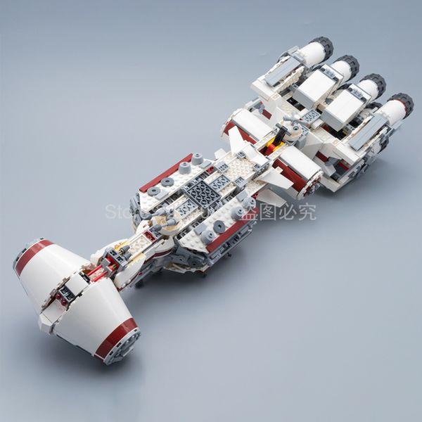 best selling NEW In Stock 05159 1768Pcs Tantive IV Model Building Blocks Bricks Kids Toys Christmas gift 11431