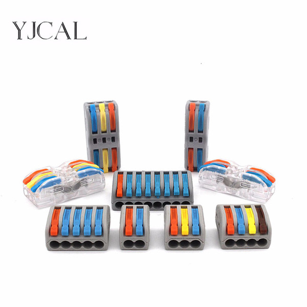 onnectors & Terminals Connectors 10PCS Wire Connector PCT 222 412 413 Color Electric Cable Led Strip Conector Mini Fast Universal Com...