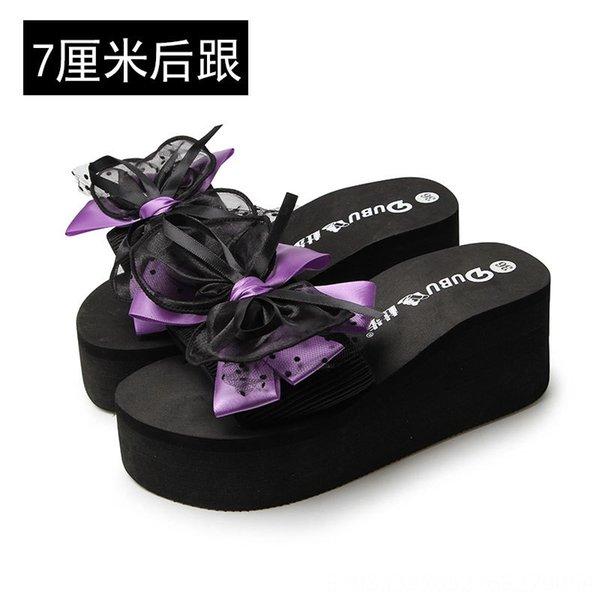 Purple 7cm Heel