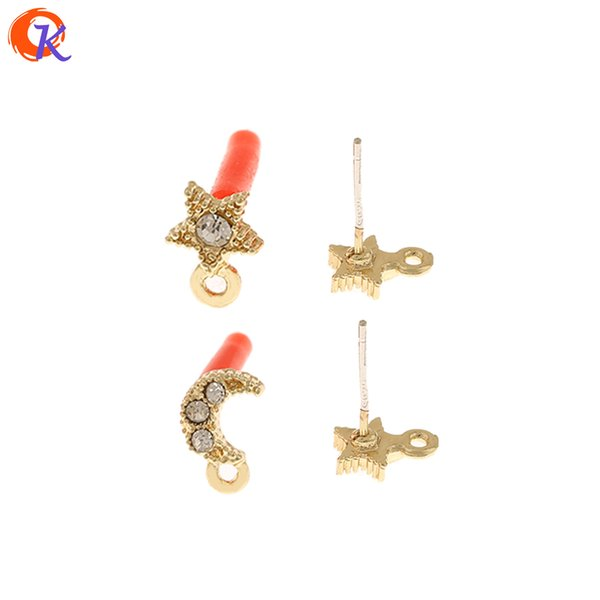 Cordial Design 100Pcs Jewelry Accessories/Rhinestone Earrings Stud/DIY Jewelry Making/Moon Star Shape/Hand Made/Earring Findings T200808 Cordial Design 100Pcs Jewelry Accessories/Rhinestone Earrings Stud/DIY Jewelry Making/Moon Star Shape/Hand Made/Earring Findings 1. Material: Metal Alloy 2. Place Of Origin: Made In China ( Mainland ) 3. Shipping Methods: By China Post Air, Hongkong Post Air, EMS, DHL...