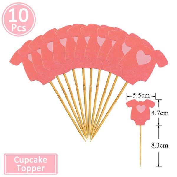 10pcs rosa Kleidung 2