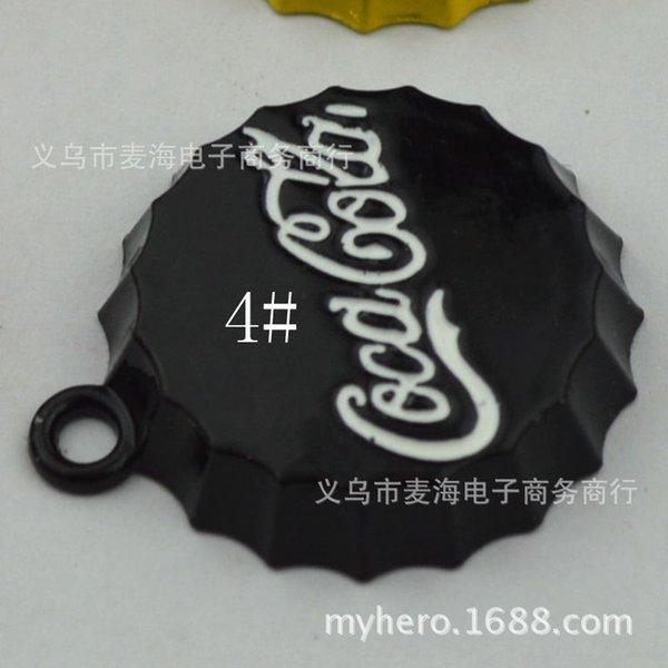 4 # Negro (100) 25mm -Gran Cola botella de Ca