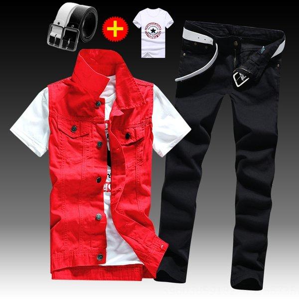 Pants Red Vestxblack