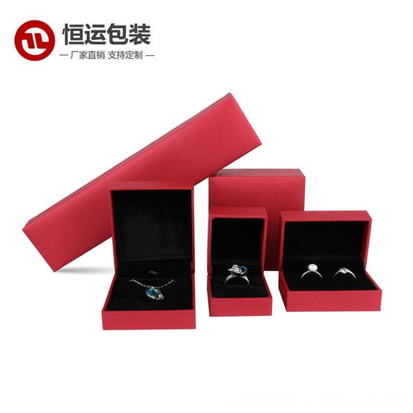 Rojo-Collar de la caja