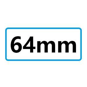distancia 64mm