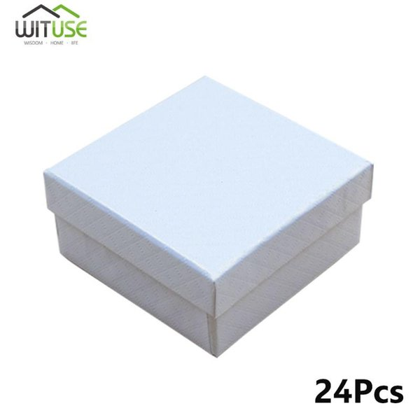 White 7.5x7.5x3.5cm