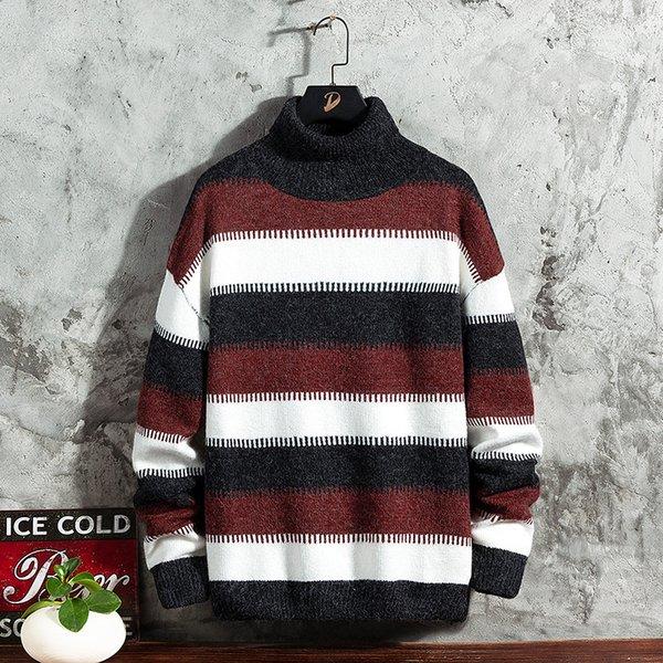 Suéter negro hombres