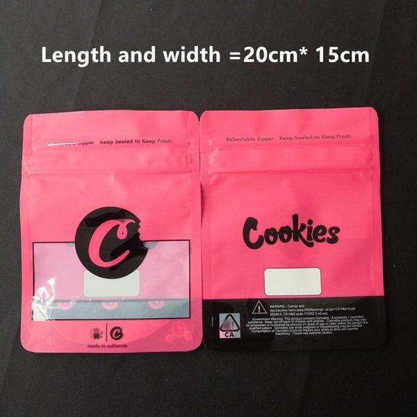 Красная сумка для печенья (150x200 мм)