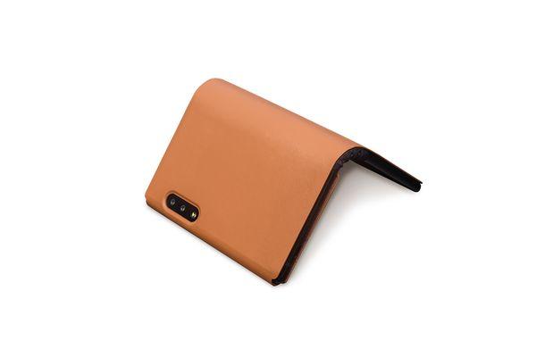 Kahverengi renk Akıllı vaka (Not Telefon)