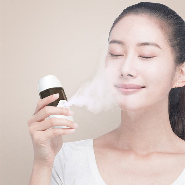 top popular 50ml Nano Facial Sprayer Professional Face Humidifier Moisturizing Face Sprayer Mini USB Facial Humidifier Sprayer Mist Spray 2021