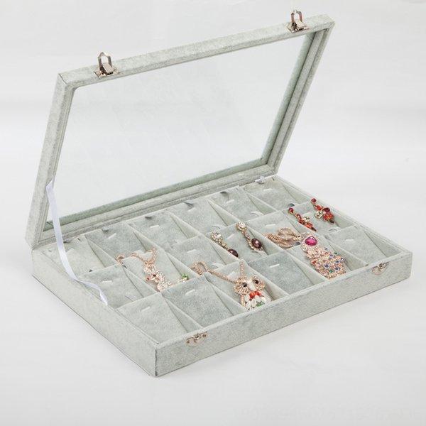 18 Grille Pendentif Boîte à bijoux-35x24cm