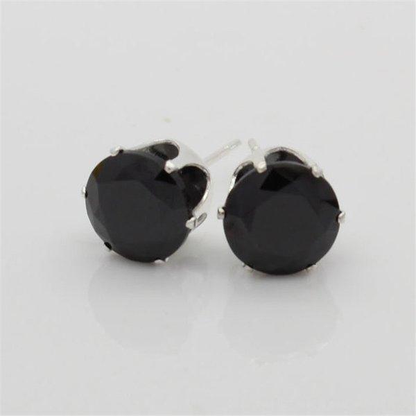 Яркий черный циркон-7мм (мм)