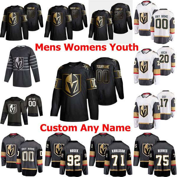 best selling Vegas Golden Knights Edition Ice Hockey Jerseys 90 Robin Lehner Jersey 21 Nick Cousins 23 Alec Martinez Marc-Andre Fleury Mark Stone Custom