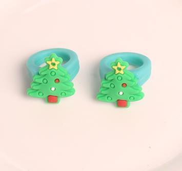 عيد الميلاد حلقة شجرة