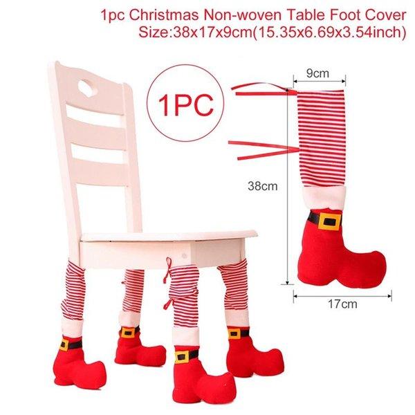 1pcs cubierta de la silla roja