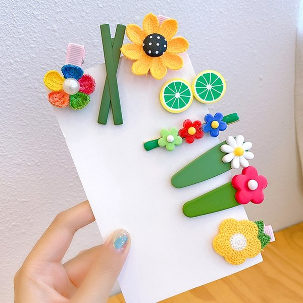 14 # tournesol Hairpin 8 pièces Set (Witho