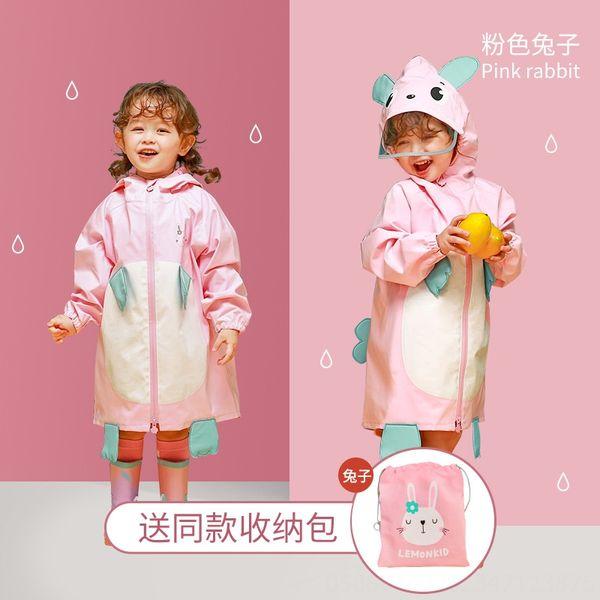 Ra tridimensional Estilo Raincoat-rosa