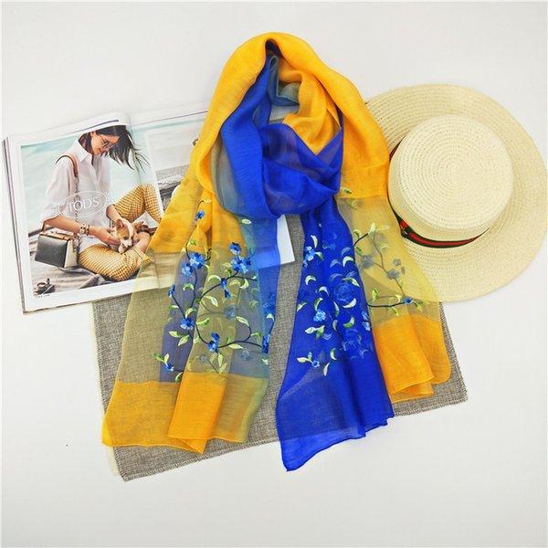 Bleu + jaune 190cm