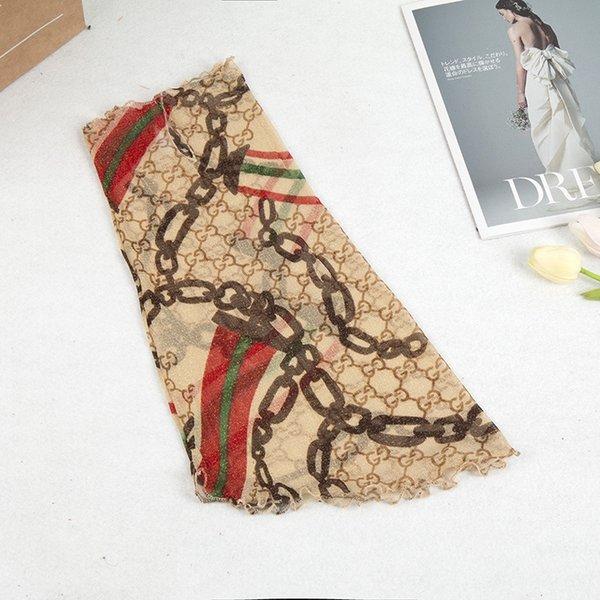 368-50cm oro filo appeso orecchio Sciarpa Ind