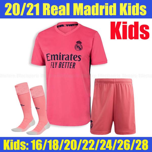 2020 Real Madrid chaussettes pour enfants