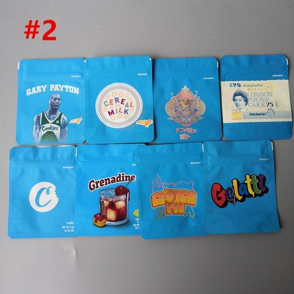Mélanger les cookies bleu # 1 au hasard