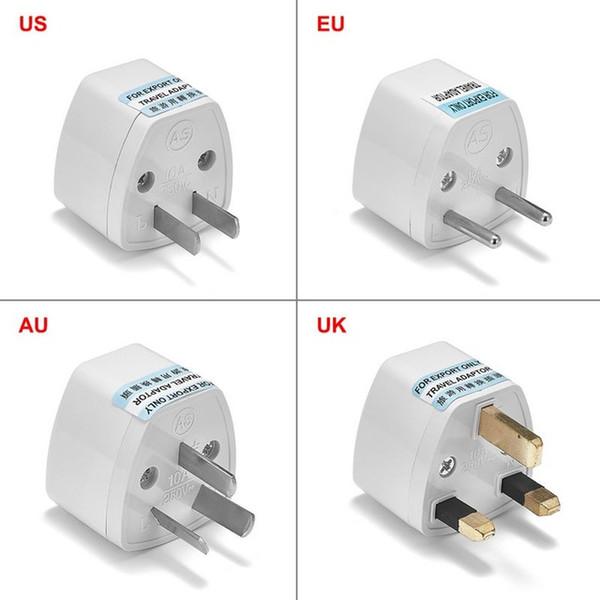 top popular lectrical Plug Universal AU UK US To EU Plug Adapter Converter USA Australian To Euro European AC Travel Adapter Power Socket Electric Ou... 2021