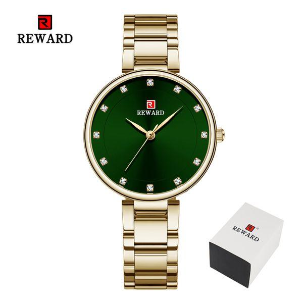 Gold Green Box
