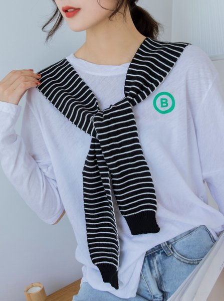 # 2 Black Striped-36cmx83cm