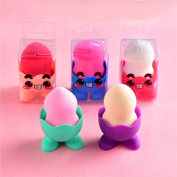 top popular Cosmetic Powder Puff Wholesale Private Label Puff Eco Friendly Make Up Sponges Material Beauty Makeup Tools Sponge Blender For Make-Up 2021