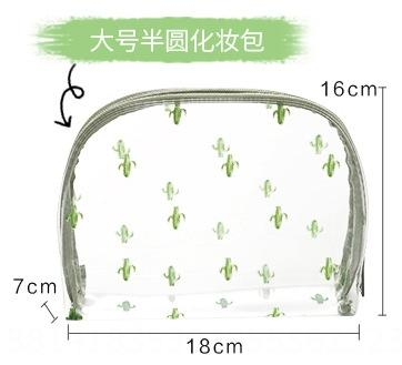 Cactus Grande Semicircunferência Bag